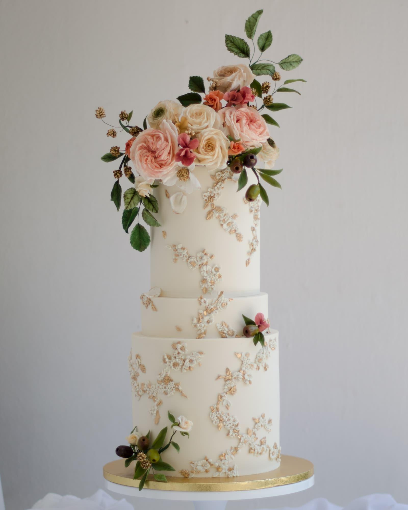 Roseraé Cakes Floral 1