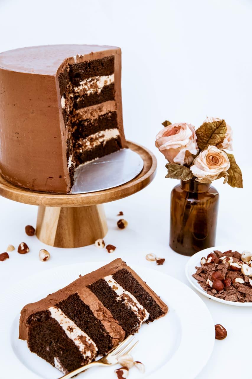 Roseraé Cakes Chocolate Hazelnut
