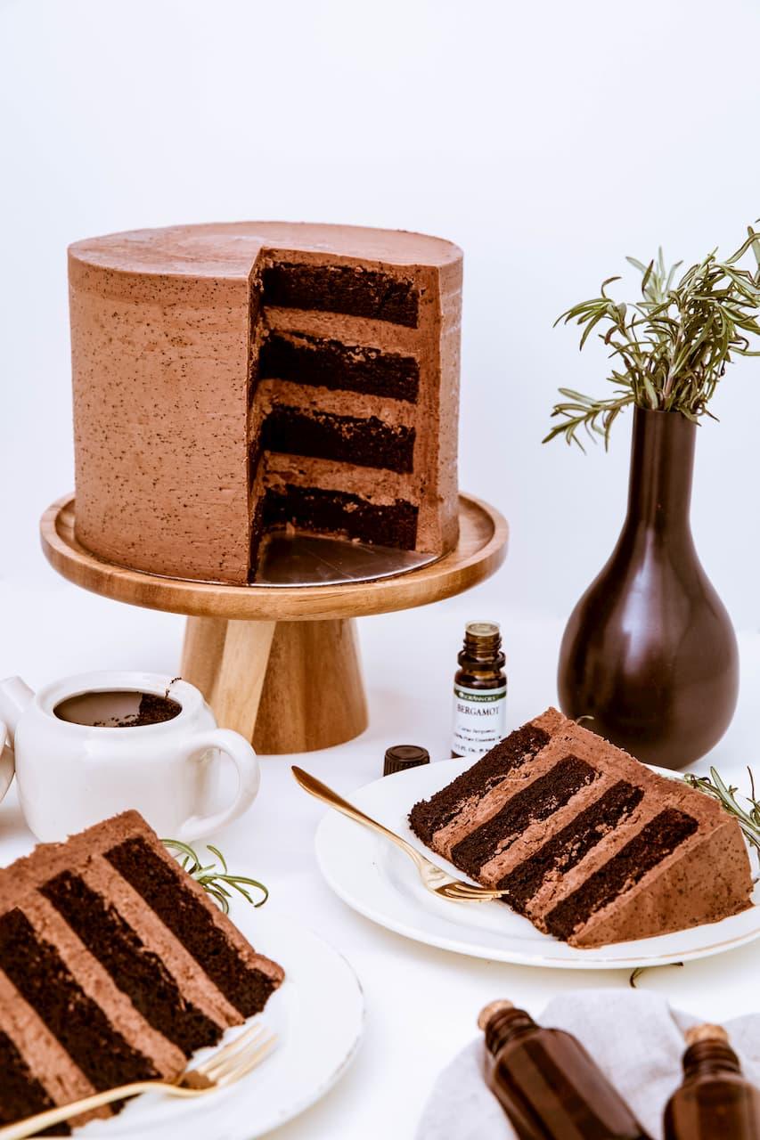 Roseraé Cakes Earl Grey Chocolate