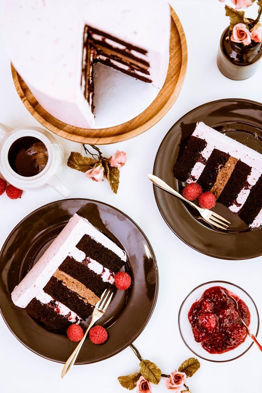 Roseraé Cakes Raspberry Chocolate