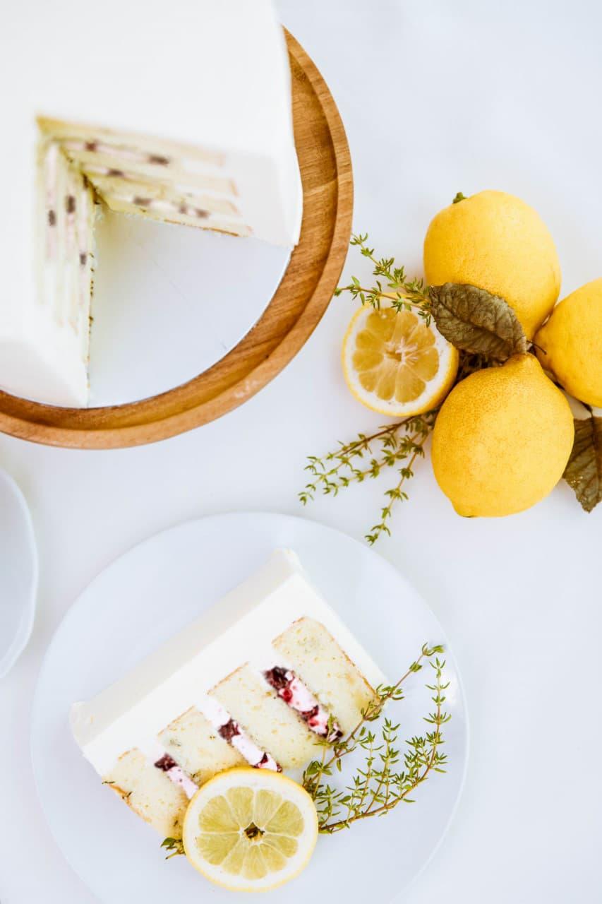 Roseraé Cakes Raspberry Lemon