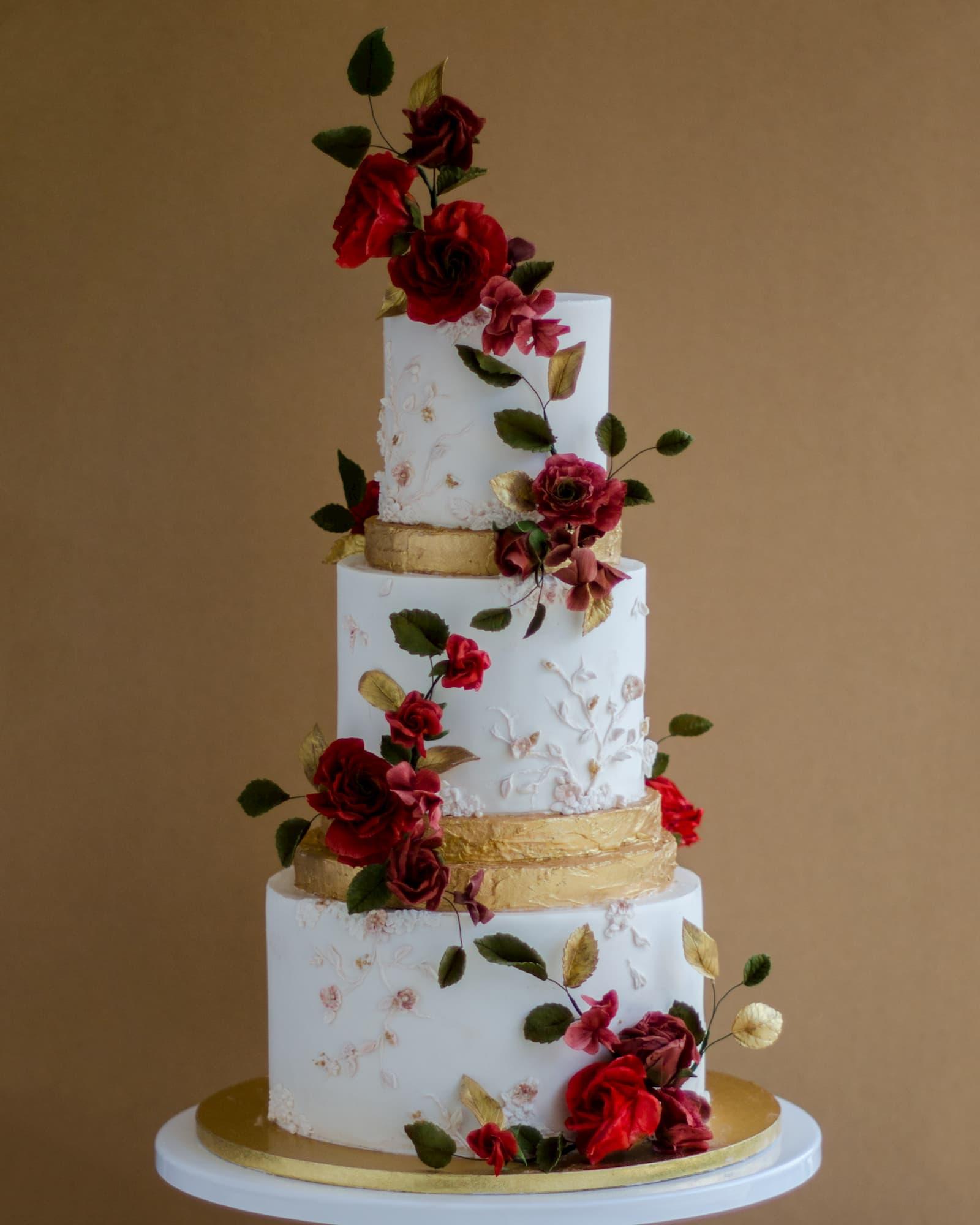 Roseraé Cakes Desi Wedding